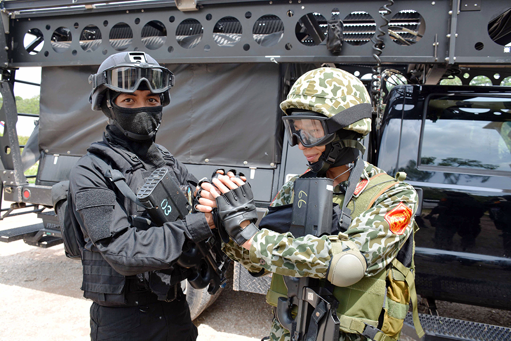 Vietnamese commandos join int'l counter-terrorism exercise